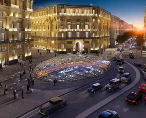 Metropolitana di Napoli Stazione Duomo Filippo Cannata Studio Fuksas